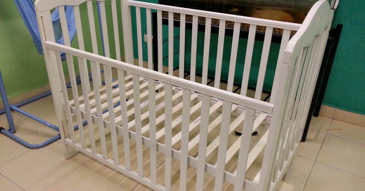 BaBY BuNDLeS Baby Cot Katil Baby Putih