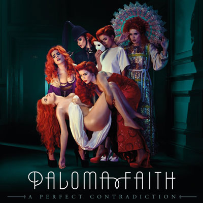 The 10 Best Album Cover Artworks of 2014: 07. Paloma Faith - A Perfect Contradiction