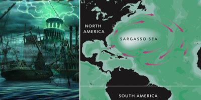 perairan sargasso satu dari 7 perairan misterius di dunia