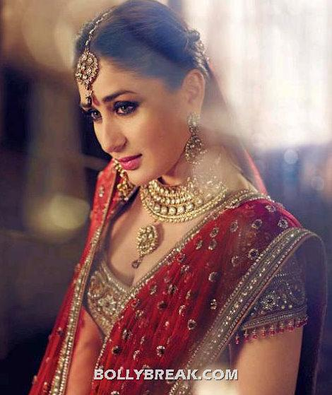 Kareena kapoor unseen Gitanjali Wedding Bridal jewellery Pic - Kareena kapoor Wedding Pic in unseen Gitanjali Bridal jewellery