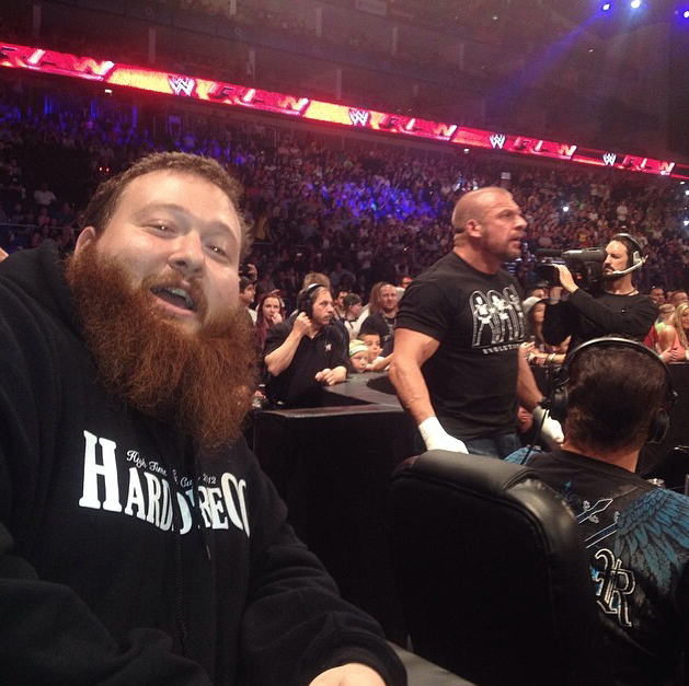 "Rick Swann Wrestler >> Young heart throb Action ""Bam Bam Bronsonlino"" Bronson front row at RAW last night : SquaredCircle"