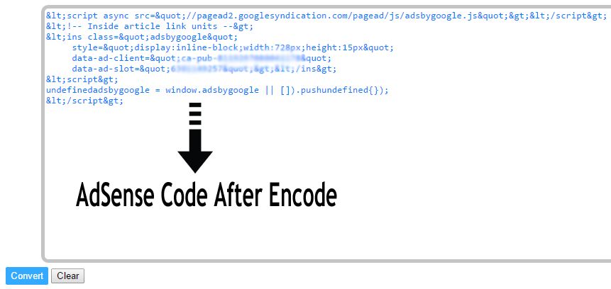 encoded code