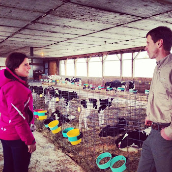 Stefanik Campaigns in the Big County at Lisbon Dairy Farm