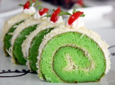 Resep Masakan - Resep dan cara membuat kue Roll Cake Cheese