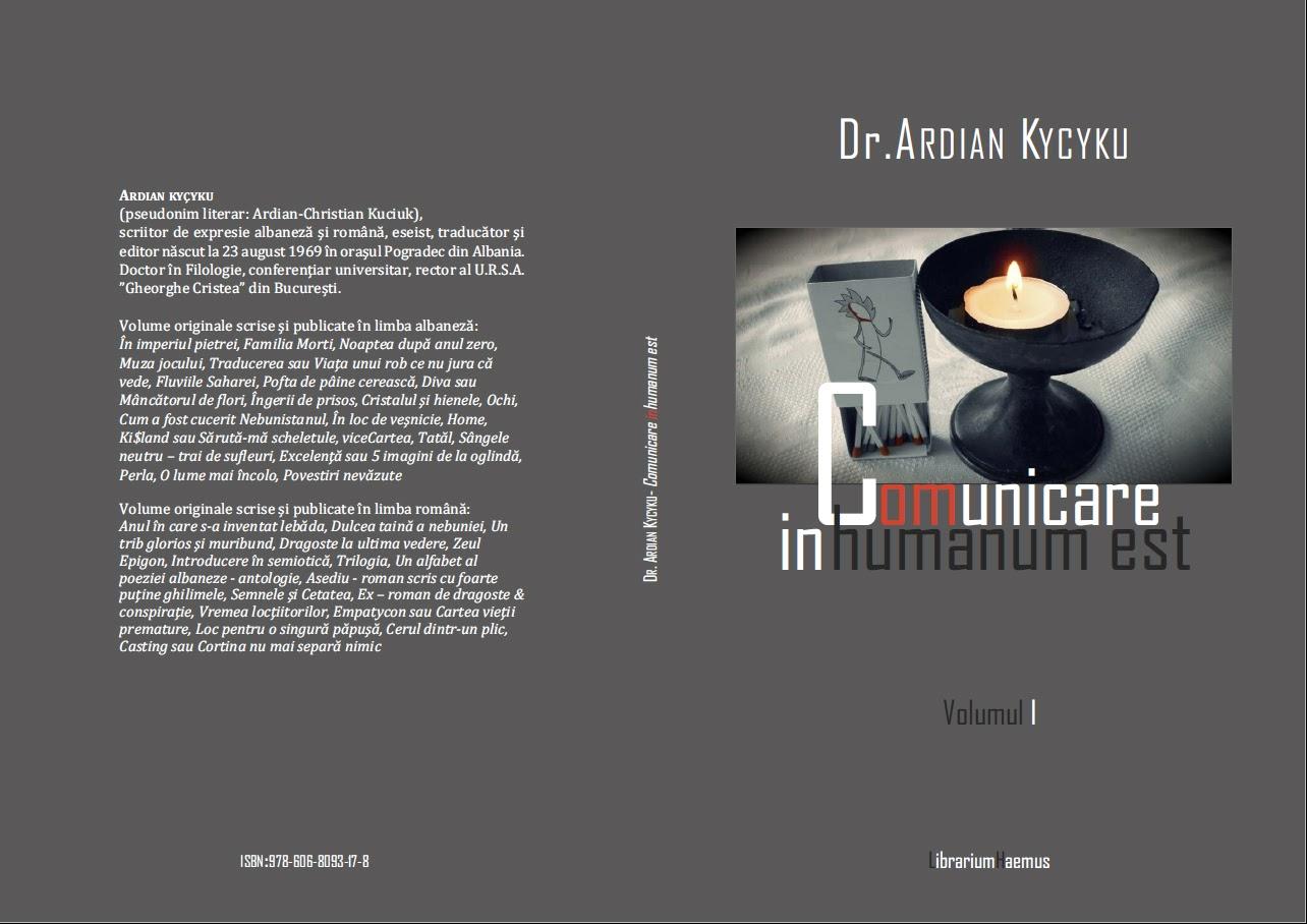 Ardian Kycyku - Comunicare in-humanum est (I)