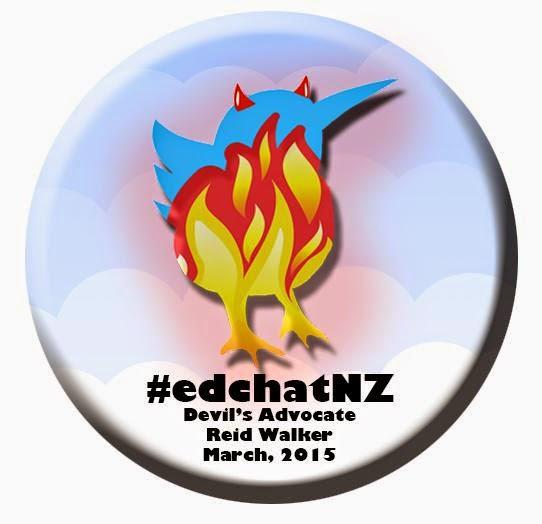 #Edchatnz Devil's Advocate