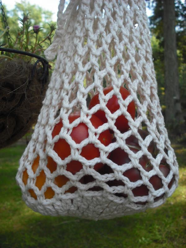 Crochet Vegetable Bag Pattern : Purple Chair Crochet: The Farm Bus Produce Bag (New Pattern!)