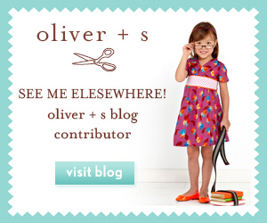 Contributor to the Oliver + S Blog