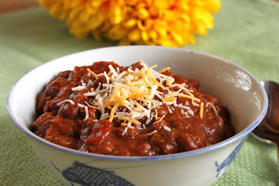 Pumpkin beef chili