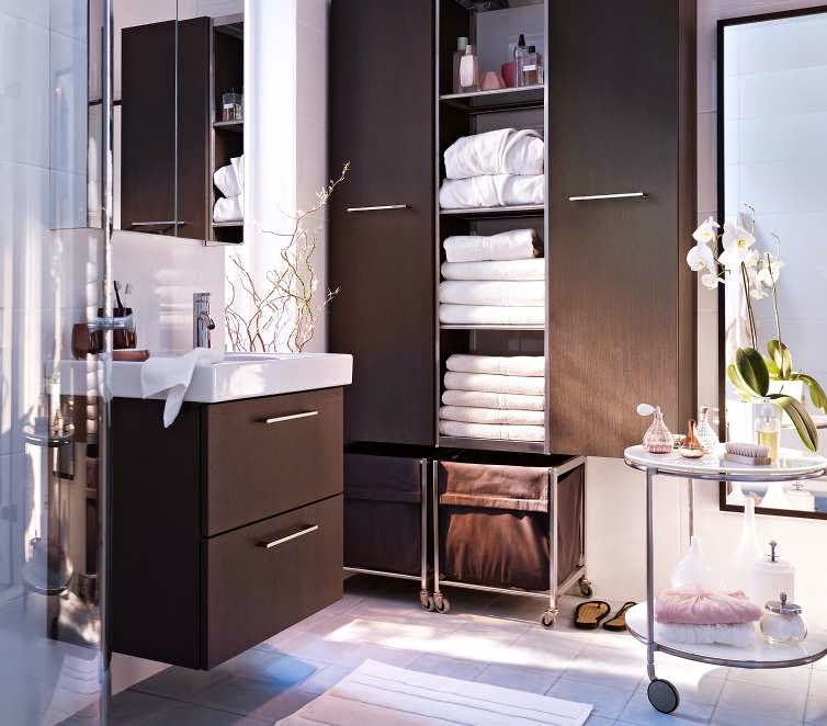 Ikea Bathroom cabinets design