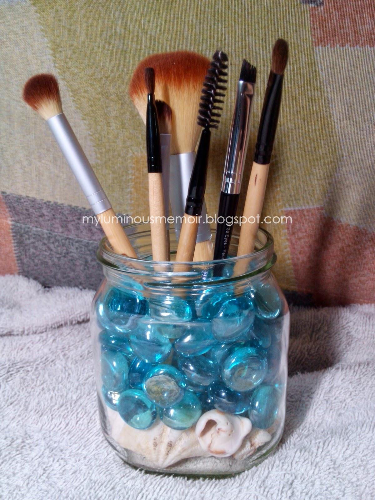 Do it yourself makeup brush organizer beautyctionary create your own diy makeup brush organizer now enjoy solutioingenieria Choice Image
