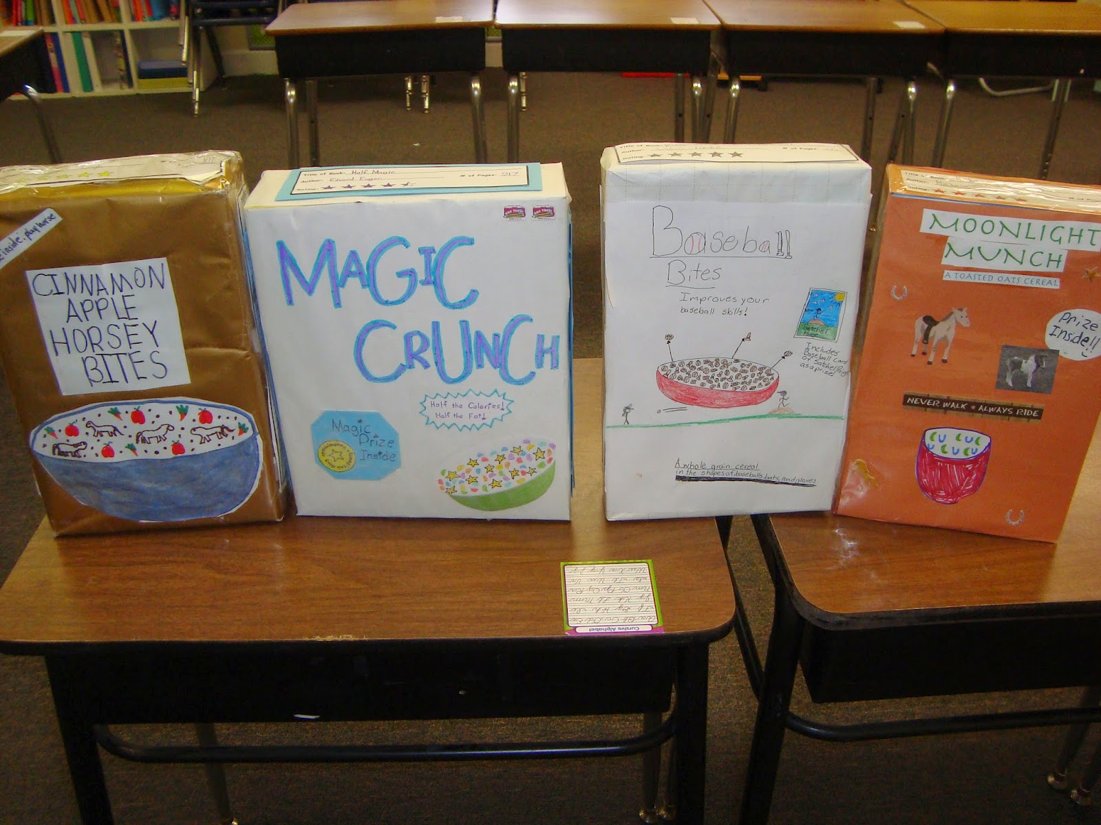 cereal box book report the hunger games Singing my book report song in class/revision to don't stop believin' by kate peytavin  the hunger games by suzanne  mr paradise's class cereal box book report commercials part 2 .