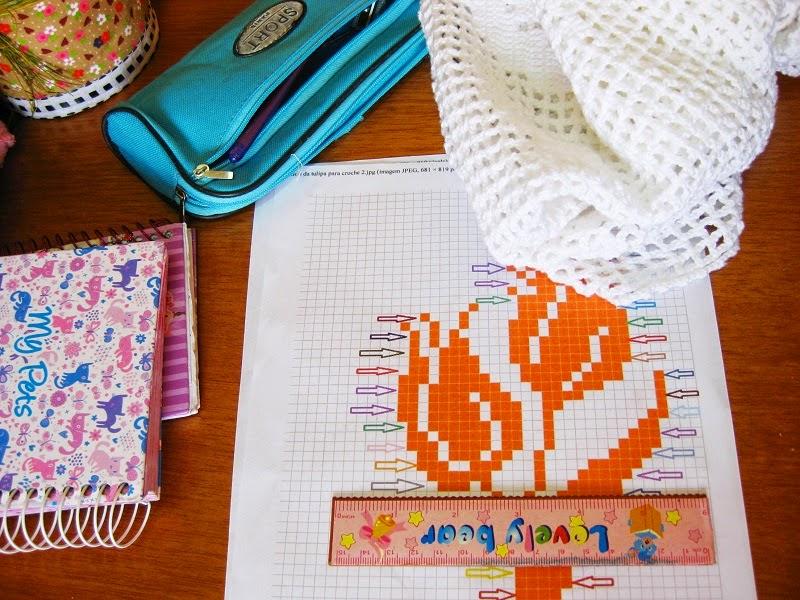 fazendo uma cortina de croche