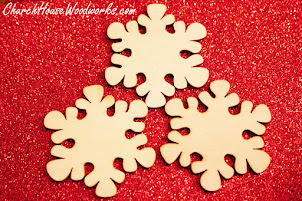 Christmas Wooden Ornaments For Sale