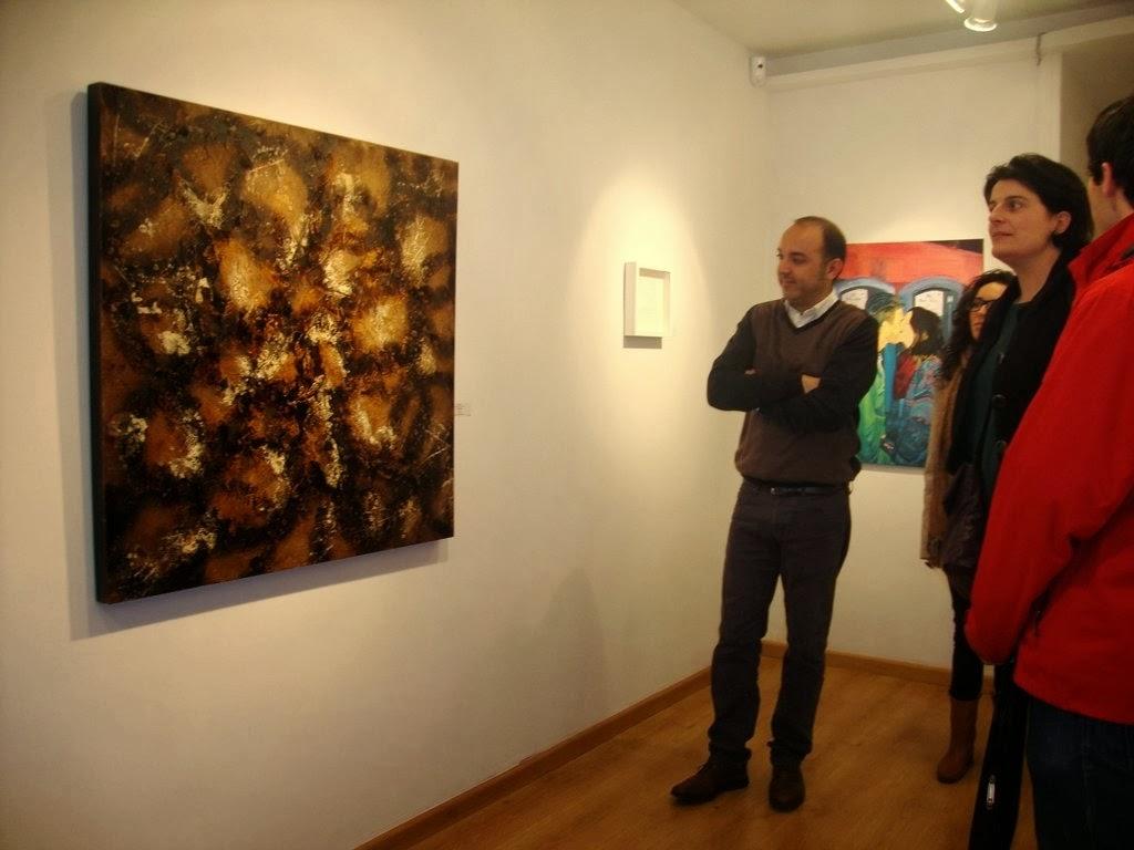 """Obra """"Sota aigua"""" a ART AVUI, fins el 16 de gener 2014"""