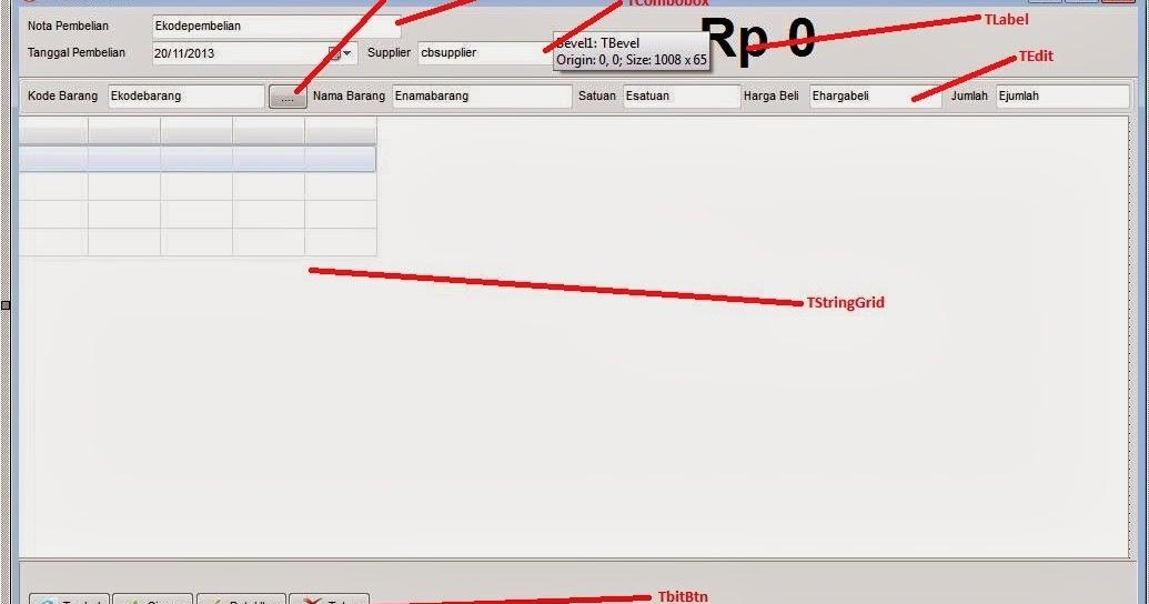 Membuat Aplikasi Penjualan (POS) dengan Delphi Part7