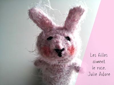 crochet bergere de france rose fille