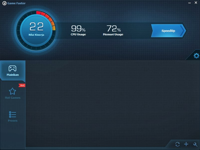 Fitur Game Faster Baidu PC Faster