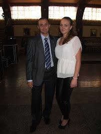 Cu eleva Mihaela Gavril, Roznov, Balul Bobocilor, 26.10.2012...
