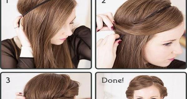 Cute Headband Hairstyle Tutorial B G Fashion