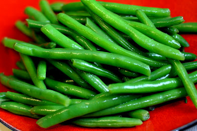 Blanched Green Beans - Photo by Michelle Judd of Taste As You Go