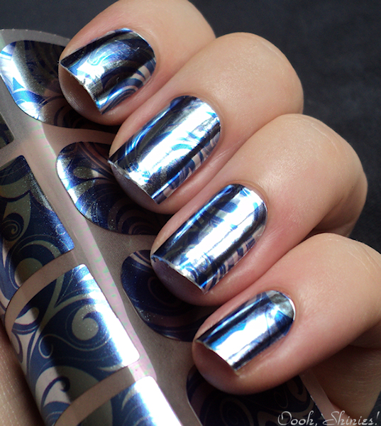 Oooh, Shinies!: Nail foil stickers - Review