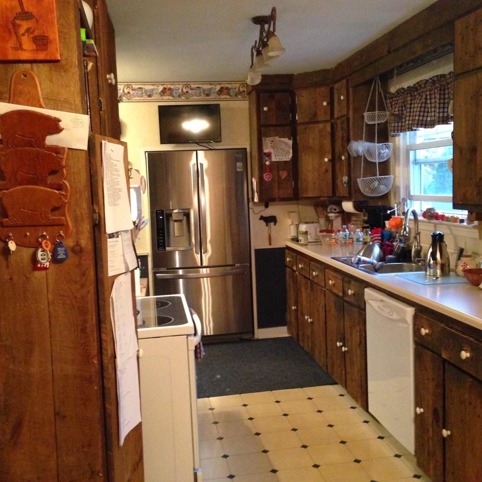 8th Day: Kitchen Rehab