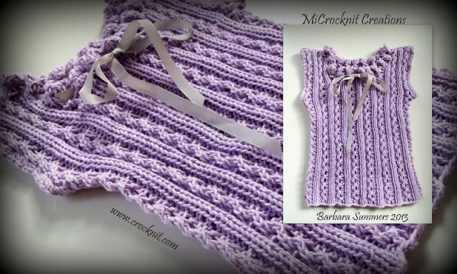 free knit patterns, baby top, sleeveless,