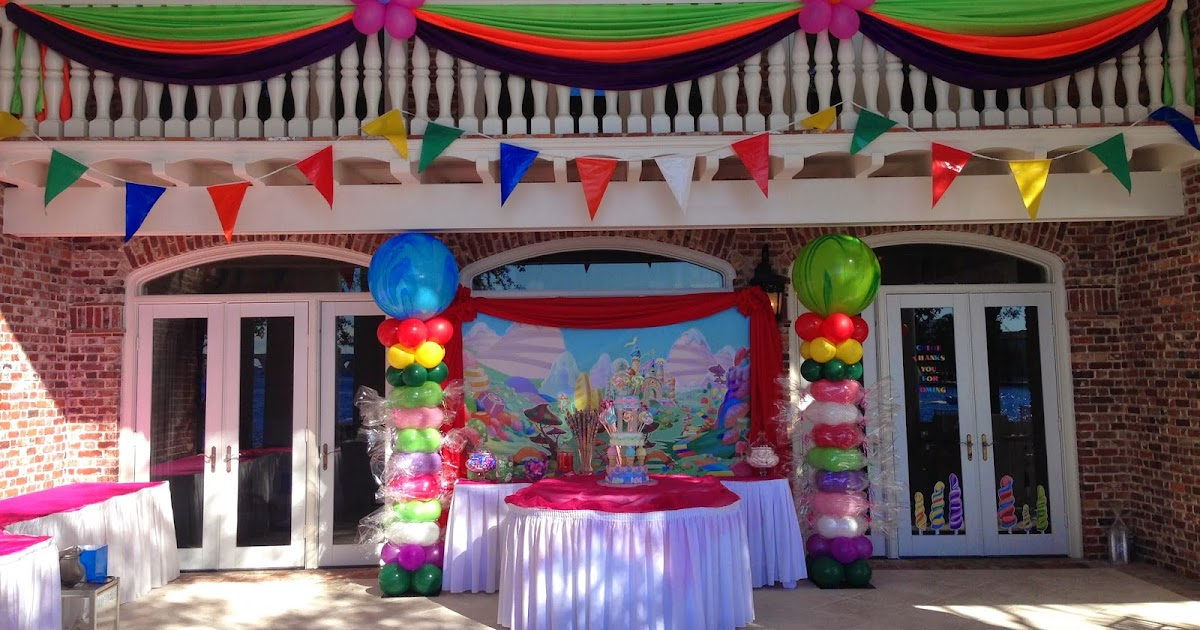 DreamARK Events Blog: Candy Land Birthday Party Decoration