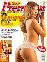confira as fotos da sósia de Juliana Paes, Charlene Marques, capa da Sexy Premium de maio de 2004!