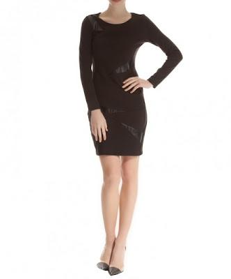 koton dar kesim elbise, siyah renk elbise, günlük ve gece giyim için oldukça uygun bir model
