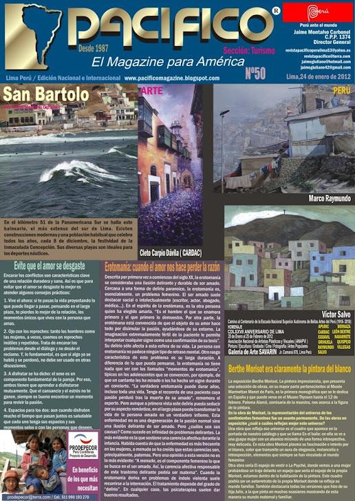 Revista Pacífico Nº 50 Turismo