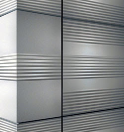 Textured Exterior Metal Wall Panel Systems