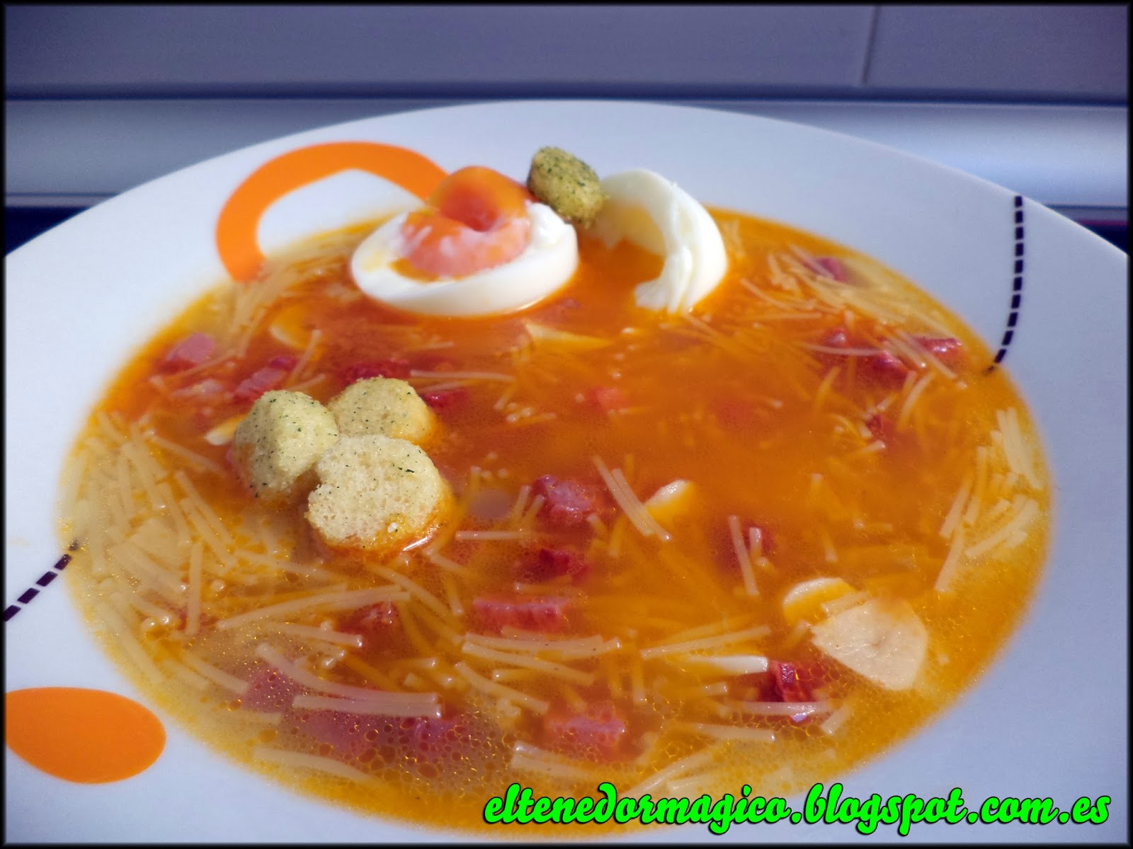 Sopa castellana...