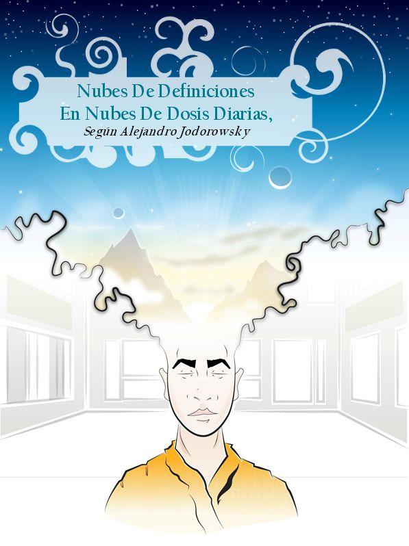 Nubes De Definiciones En Nubes De Dosis Diarias, Según Alejandro Jodorowsky