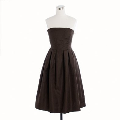 Simple Brown Dresses Designs To Birthday Party Wedding Dress
