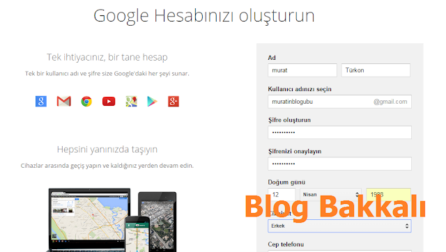 Blogger Blog Nasıl Açılır