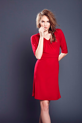 HS0067 tie back dress red s1011 Hot Squash & 20% Off Code!