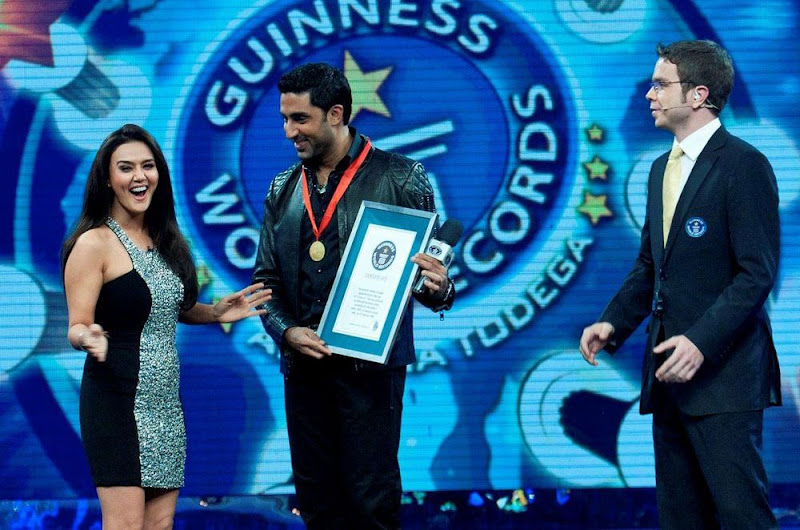 Abhishek Bachchan At Guinness World Records Latest PicsPhotos event pictures