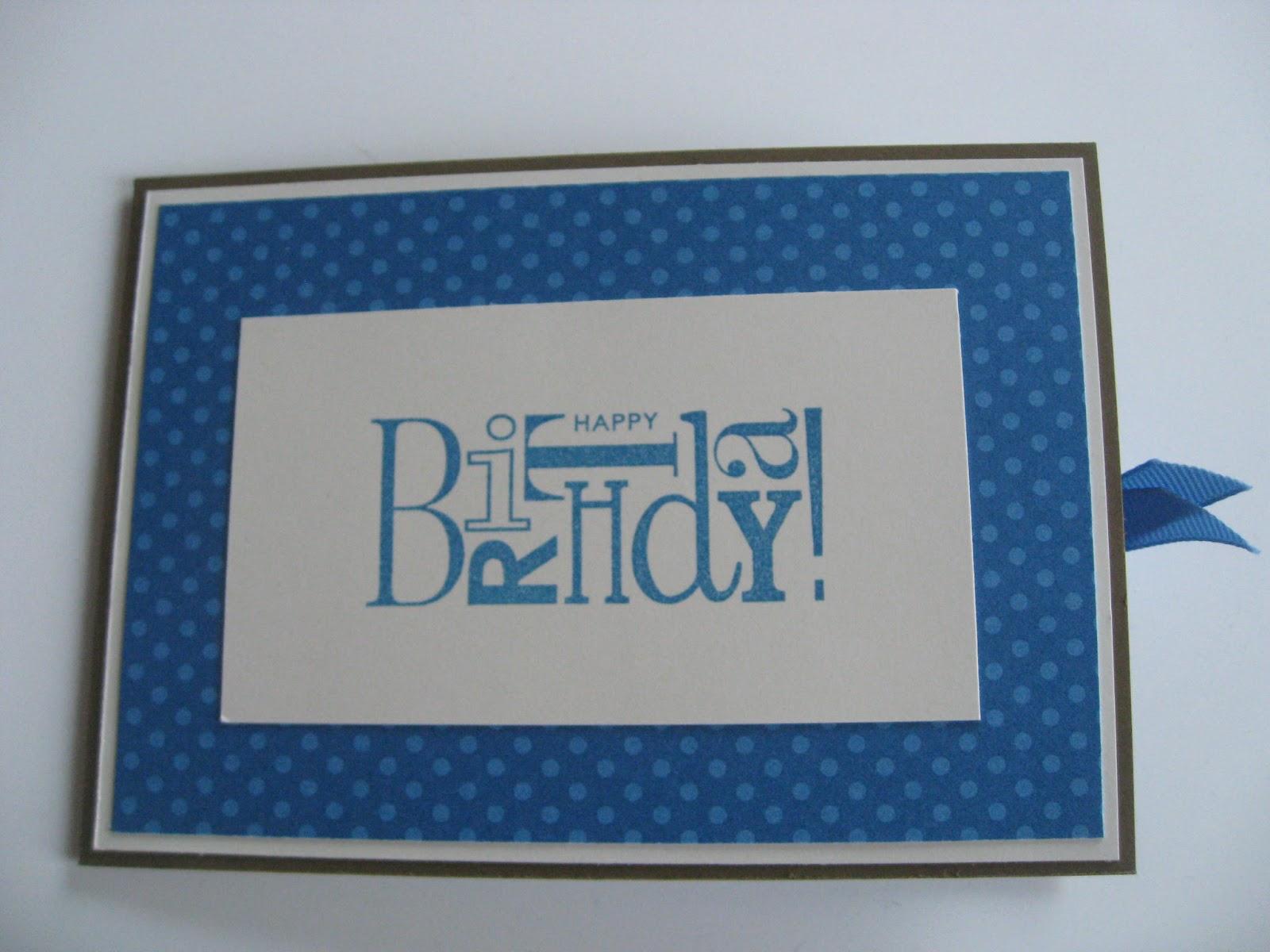 stempel schere papier geburtstagskarte f r den. Black Bedroom Furniture Sets. Home Design Ideas