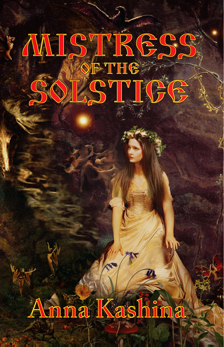 Mistress of the Solstice book cover
