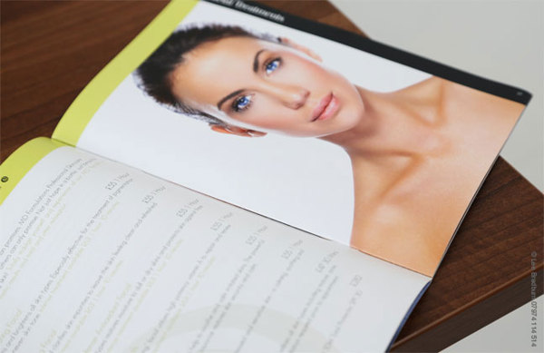 Spa Brochure Design