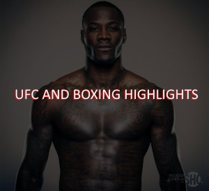 UFC/Boxing Highlights