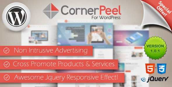 Plugin Corner Peel Wordpress