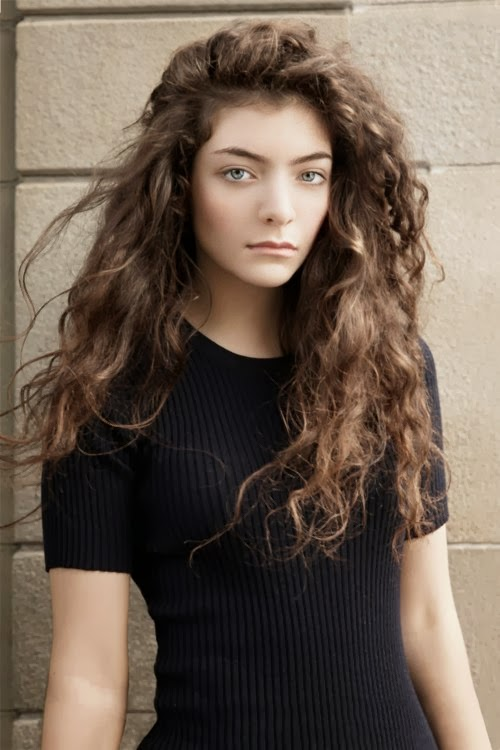 Flygirl Curly Hair Inspiration Lorde