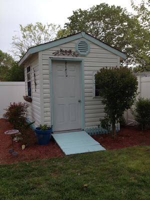Out on a Limb: Little Garden Shed Makeover