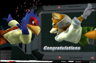 falco melee adventure congratulations