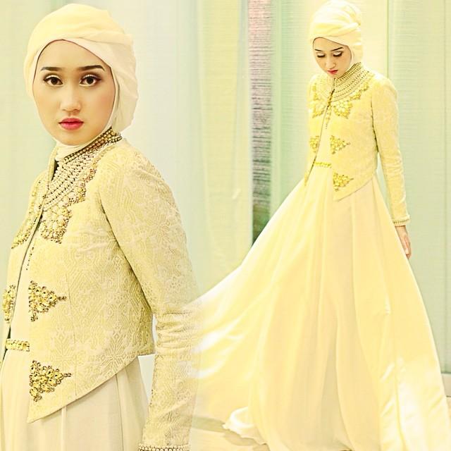 20 Model Baju Muslim Untuk Pesta Desain Dian Pelangi