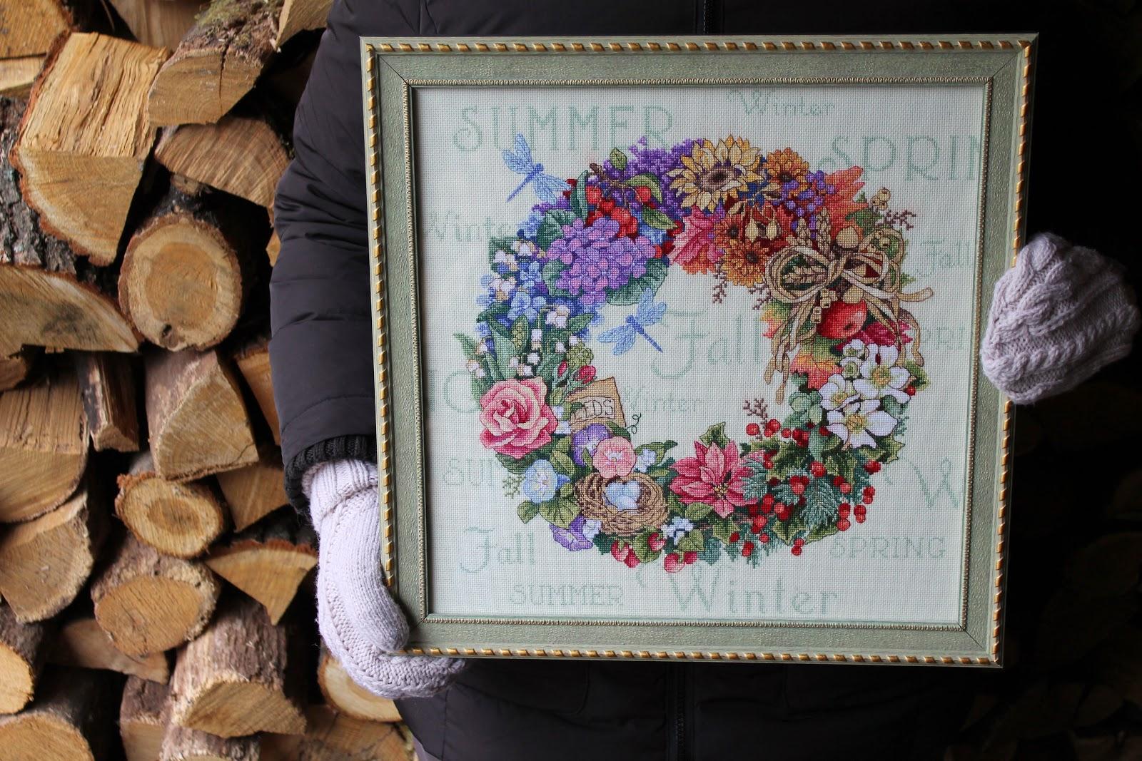 wreath of all seasons 35040 схема