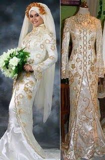 Kebaya Pernikahan Modern Muslim Muslimah Koleksi Gambar Model Desain